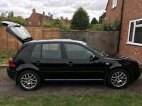 VW Golf GTI Turbo Black with MOT until August 2019