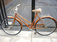Gorgeous Vintage Viscount 3 speed ladies bike, Serviced Frame 21""