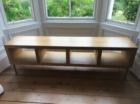 IKEA KALLAX Shelving Unit or TV Bench stand Oak Effect