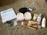 Gel nail manicure pedicure nail bundle led lamp