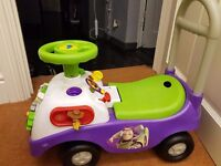 Buzz light year ride along toy in good condition