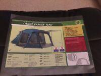 FAMILY FRAME TENT - Sleeps 5-6 - Never Used