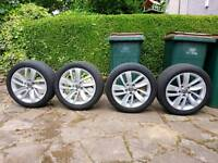 """VAUXHALL INSIGNIA 18"""" WHEELS with tyres"""