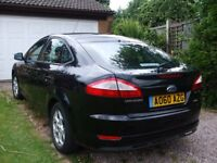 FORD MONDEO MET BLACK ZETEC 2010 TDCI 140. A WELL LOOKED AFTER OUTSTANDING GENUINE CAR.