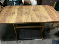 Retro formica table