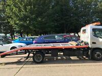 car recovery service 24/7,cars,small van,range rover,caravan,quick response,we buy scrap car