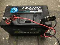 Leisure battery caravan camper van motorhome auxiliary battery