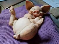 Pig garden ornament