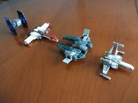 4 LEGO STAR WARS 8028, 30051, 30240, 30244