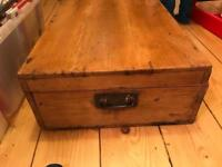 Beautiful old box chest