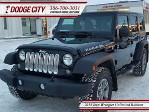 2015 Jeep WRANGLER UNLIMITED Rubicon | 4x4 - Heated Leather, Blu