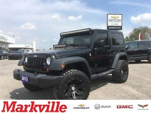 2013 Jeep Wrangler SPORT - HARD AND SOFT TOP - MT TIRES-