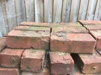 Reclaimed Victorian Bricks - very clean collection only