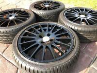 "17"" OZ Superturismo Ford Fiesta EcoBoost Zetec ST RS Alloy wheel & tyres 4x108"
