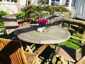 Garden Furniture Table and 4 Chairs