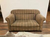 2 Seater vintage sofa - reclining armrest