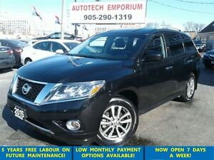 2015 Nissan Pathfinder SV 7 Pass.4x4 Camera/Btooth