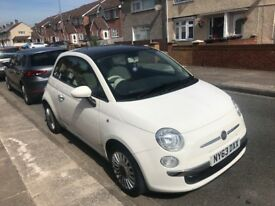 Looked after modern Fiat 500 perfect for a new driver.