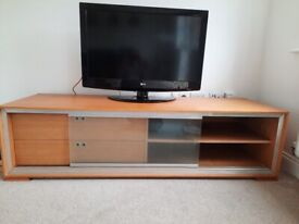 Tv bench with storage