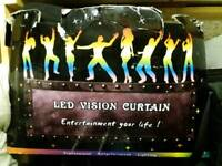 Showvision led matrix curtain