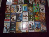 DVD, VHS and cd job lot