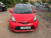 2014 TOYOTA AYGO 1.0 LOW MILEAGE, 1 OWNER!