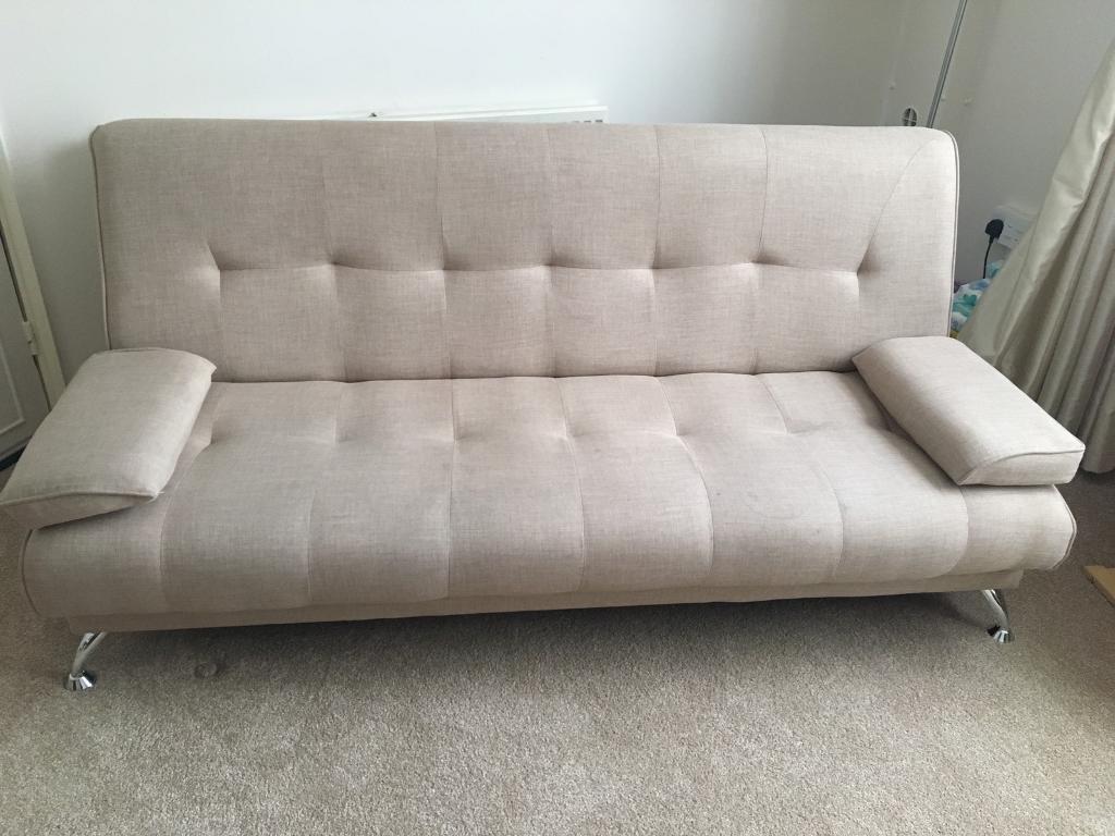 Sicily 2 Seater Fabric Clic Clac Sofa Bed | in Edgware, London ...