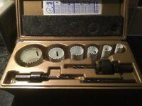 Lenox set of 6 Hole saws
