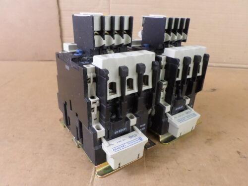 Telemecanique Complete Connected Set of (2) Coils, Contactors, & Contact Blocks