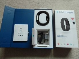Fitbit Charge 2 Heart Rate + Fitness Wristband. Black, Size S/P
