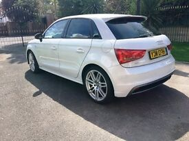 AUDI A1 S LINE EXELLENT CONDITION ALL MAIN AUDI DEELER SERVICE HISTORY ONE OWNER