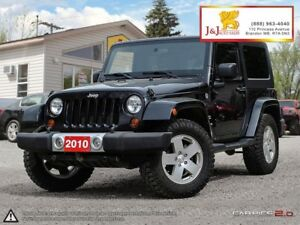 2010 Jeep Wrangler Sahara C.Start,4X4,A/C,New Tires,Fun to drive