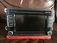 Vw rcd510 double din 6 disc mp3 changer