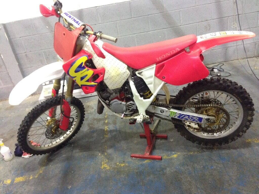 honda cr 125 evo red rocket motocross bike 125cc 250cc 85cc yz rm cr ktm in redditch. Black Bedroom Furniture Sets. Home Design Ideas