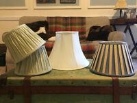 Lamp / light shade x4