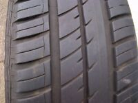 Renault alloy wheels with tyres x 4