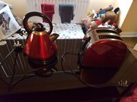 Russell Hobbs Red accent set