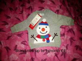 Brand new Xmas jumper first size