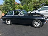 1975 MGB GT fantastic car rebuilt 2011 Drives brilliant