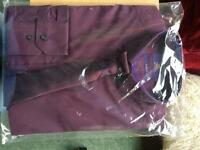 Purple Shirt and Tie set