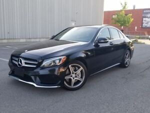 2015 Mercedes-Benz C-Class C400 4MATIC NO ACCIDENTS FULLY LOADED
