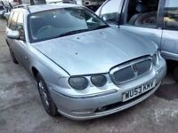2003 Rover 75 2.0 CDT Club tourer estate silver BREAKING FOR SPARES