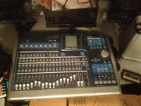 Tascam 24 track recorder.