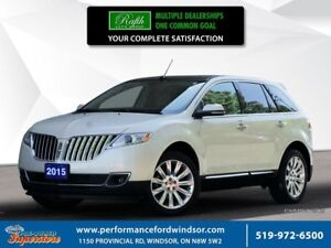 2015 Lincoln MKX >>NAV, wood package, AWD<<<