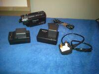 panasonic sd600 HD camcorder and photo