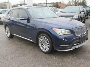 2015 BMW X1 Leather, Moon Roof, Navigation, Alloys, AWD