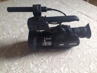 New JVC Pro HD video camera - £1800 Ono. Only used once as unsuitable for my purpose.