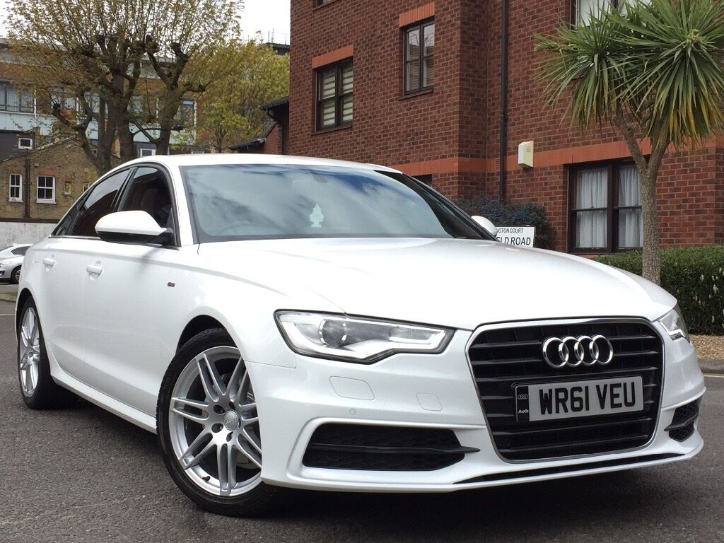2012 audi a6 2 0 tdi s line white special edition manual 6 speed immaculate in acton london. Black Bedroom Furniture Sets. Home Design Ideas