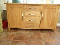 Light Oak Sideboard (Oak Furnitureland)