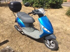 SOLD 2001 Piaggio Zip 50cc scooter 1 owner from new low mileage retro barn find SOLD